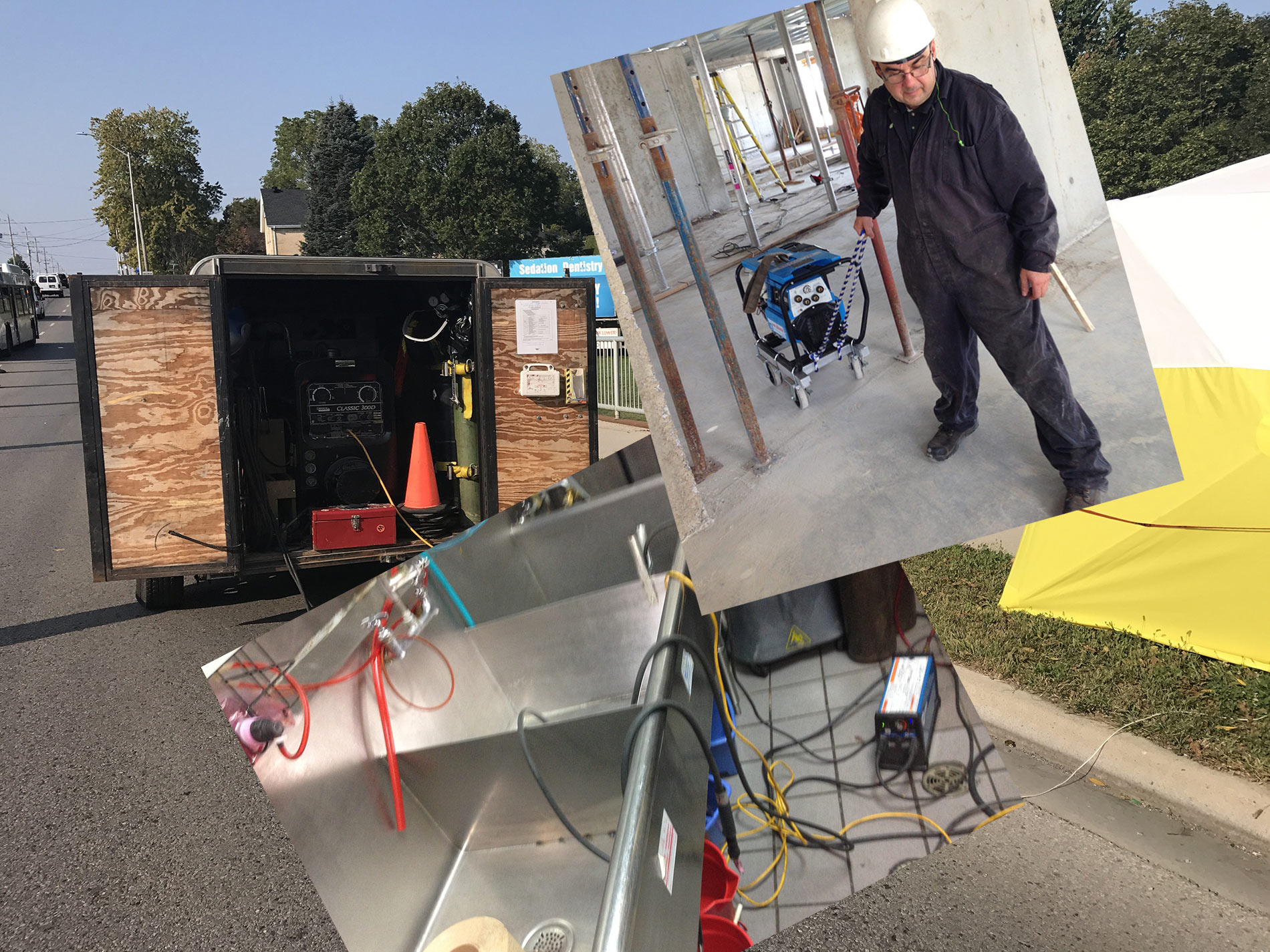 Show multiple versions of mobile welding by JW Portable Welding & Repairs